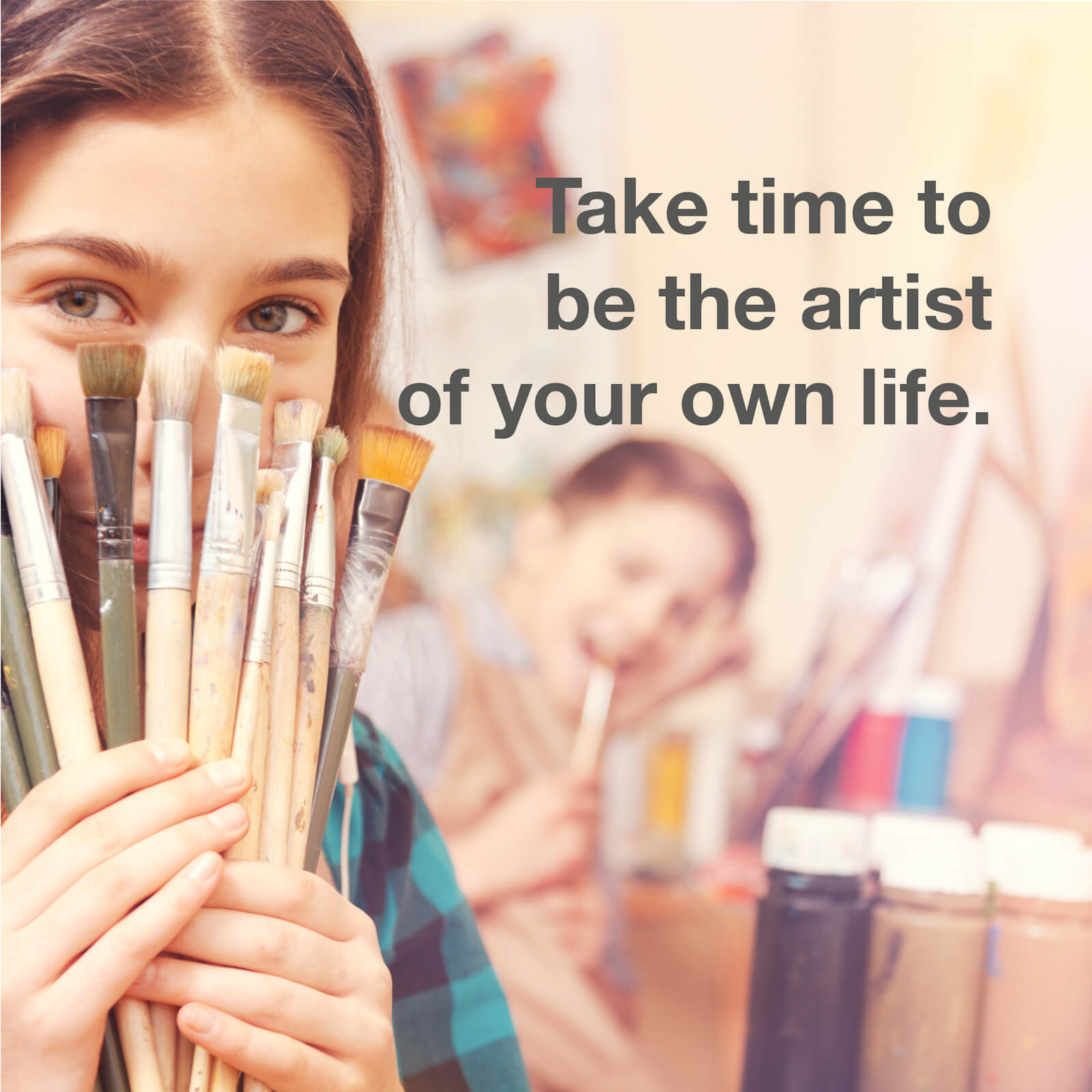 You are the desinger of your own future. Be creative.