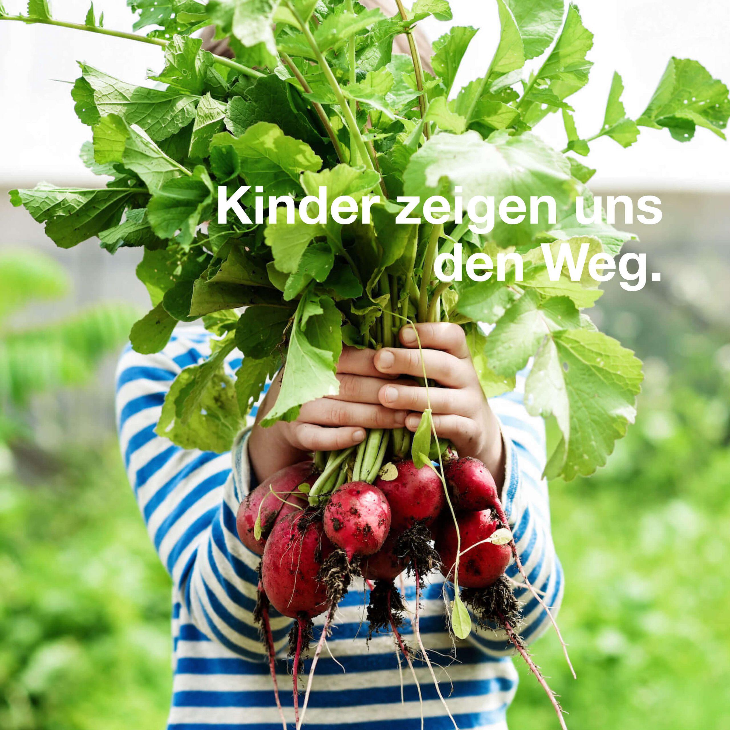 Umweltschutz. Kinder leben es uns vor.